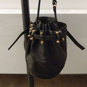Alexander Wang Black Bucket Bag